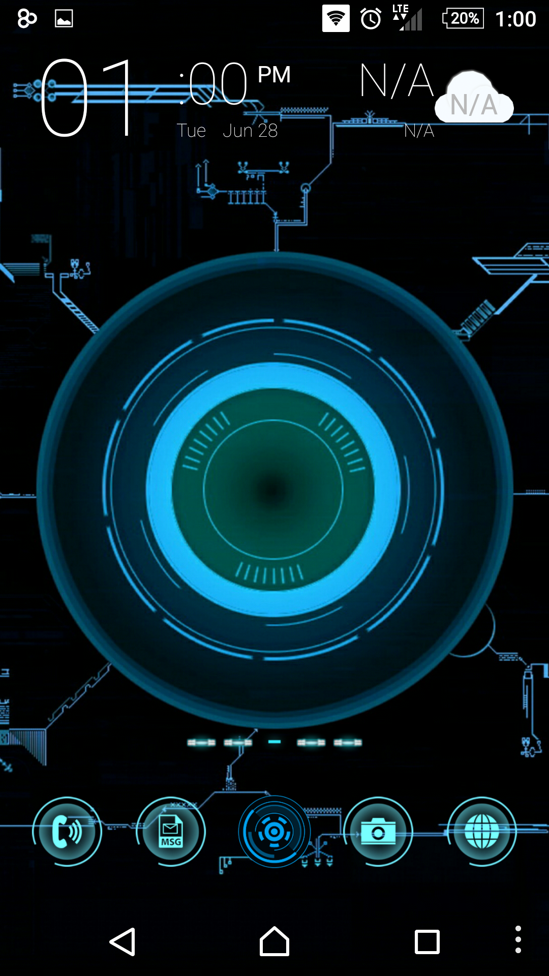 Jarvis SkinPack for Android released - SkinPack - Customize