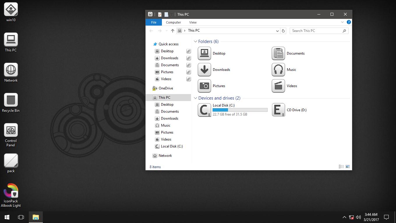 Albook Light IconPack for Win7/8/8.1/10