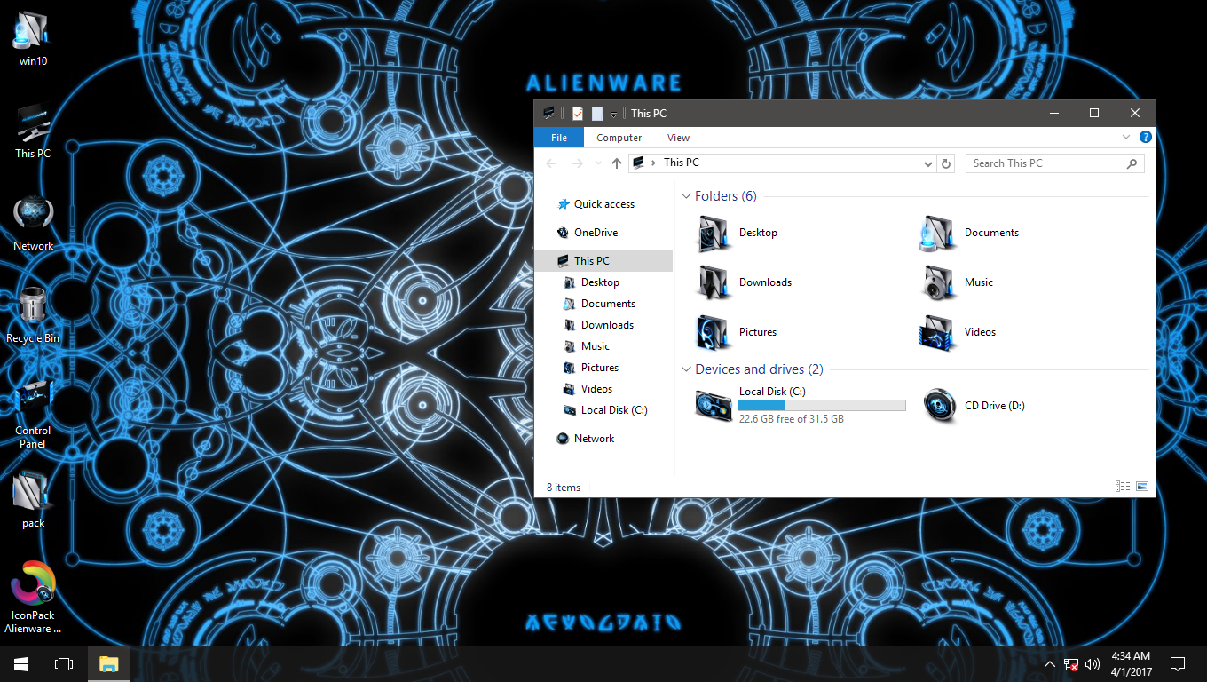 CI IconPack for Win7/8/8.1/10