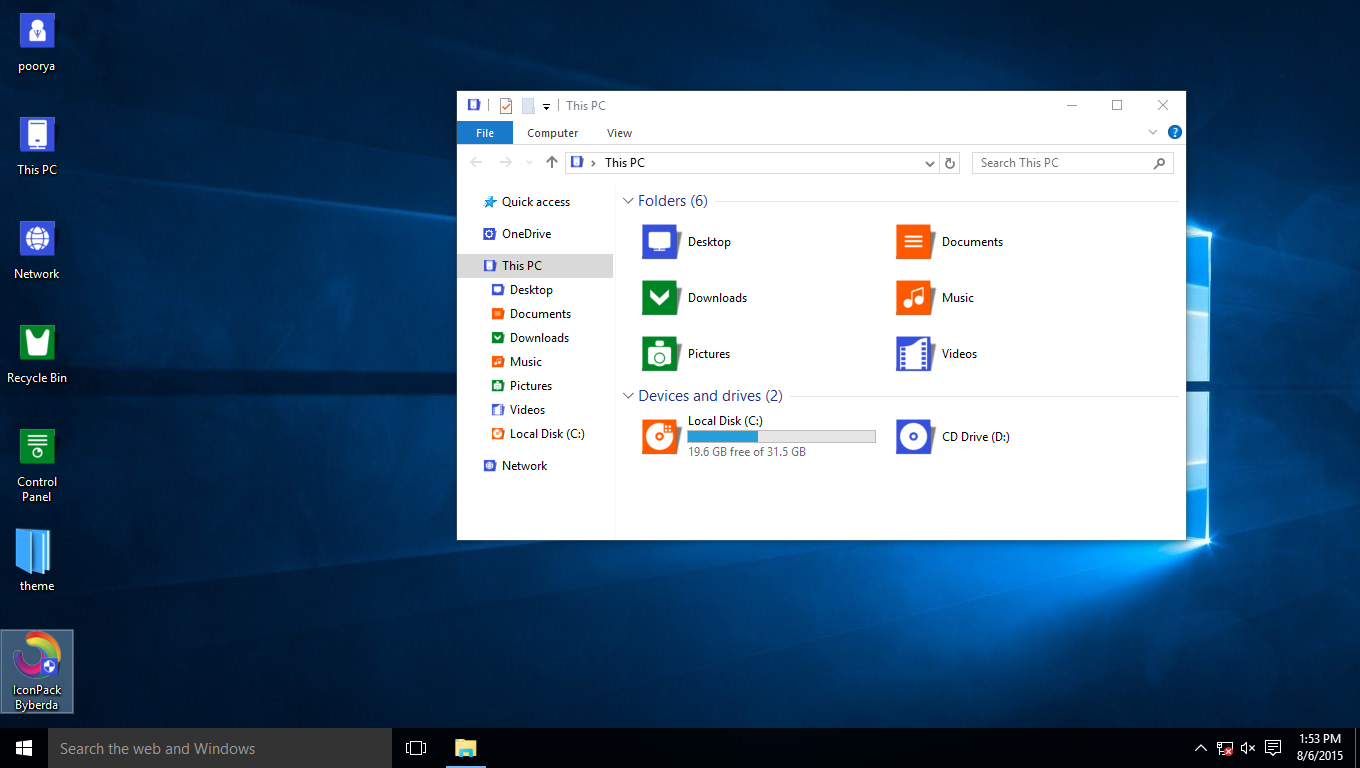Byberda IconPack for Win7/8/8.1/10