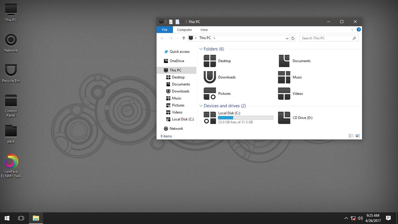 ECNMY Dark IconPack for Win7/8/8.1/10