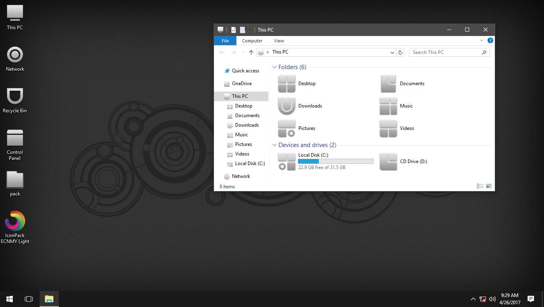 ECNMY Light IconPack for Win7/8/8.1/10