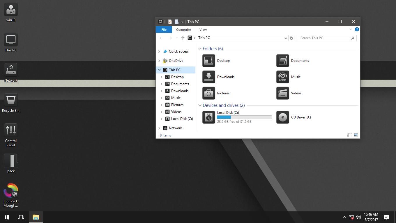 Msergt Quadrates IconPack for Win7/8/8.1/10