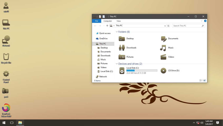 Token Gold IconPack for Win7/8/8.1/10