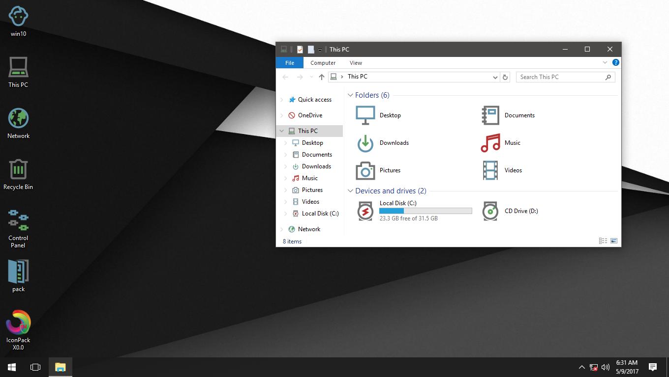 X0.0 IconPack for Win7/8/8.1/10