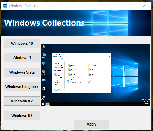 Windows SkinPack Collections for Win10/8.1/7