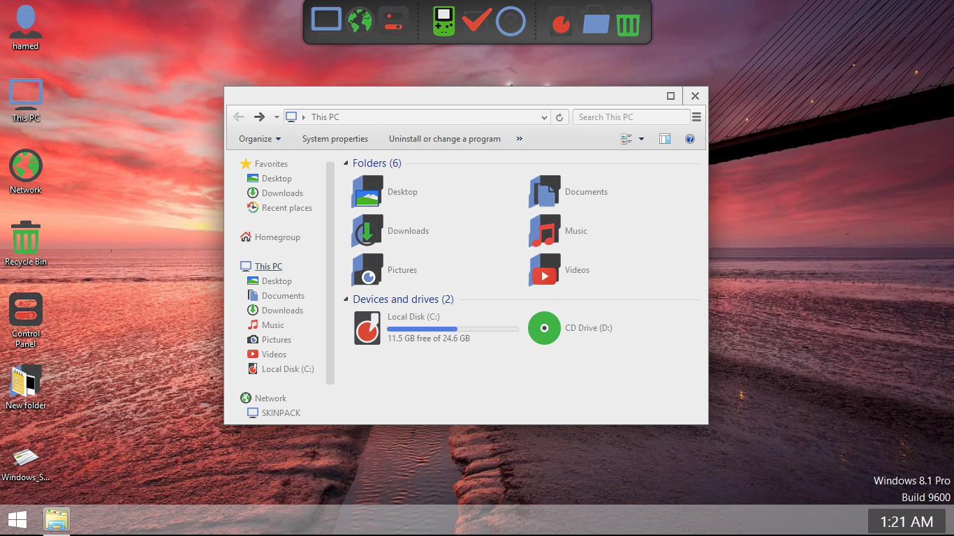 Chromium SkinPack for Win7/8.1