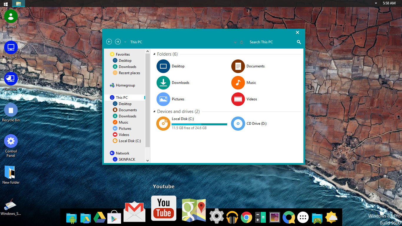 Android M SkinPack 2.0 for Win7/8.1 released