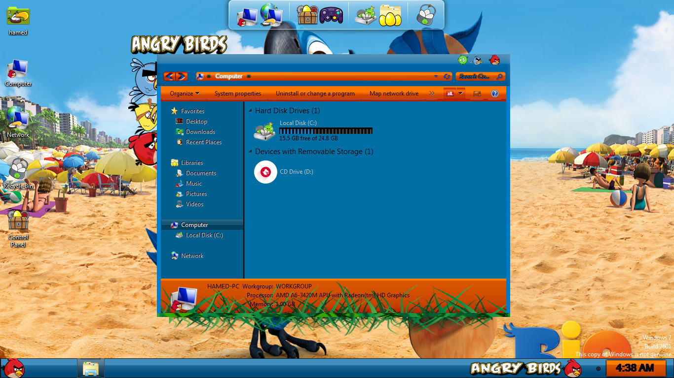 Angry Birds Rio Skin Pack - SkinPack - Customize Your