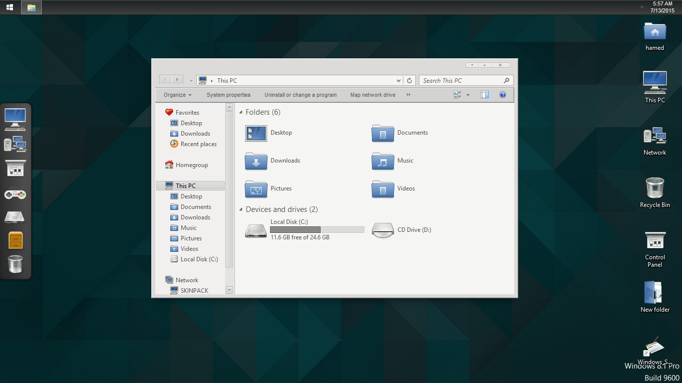 Gnome SkinPack for Win7/8.1
