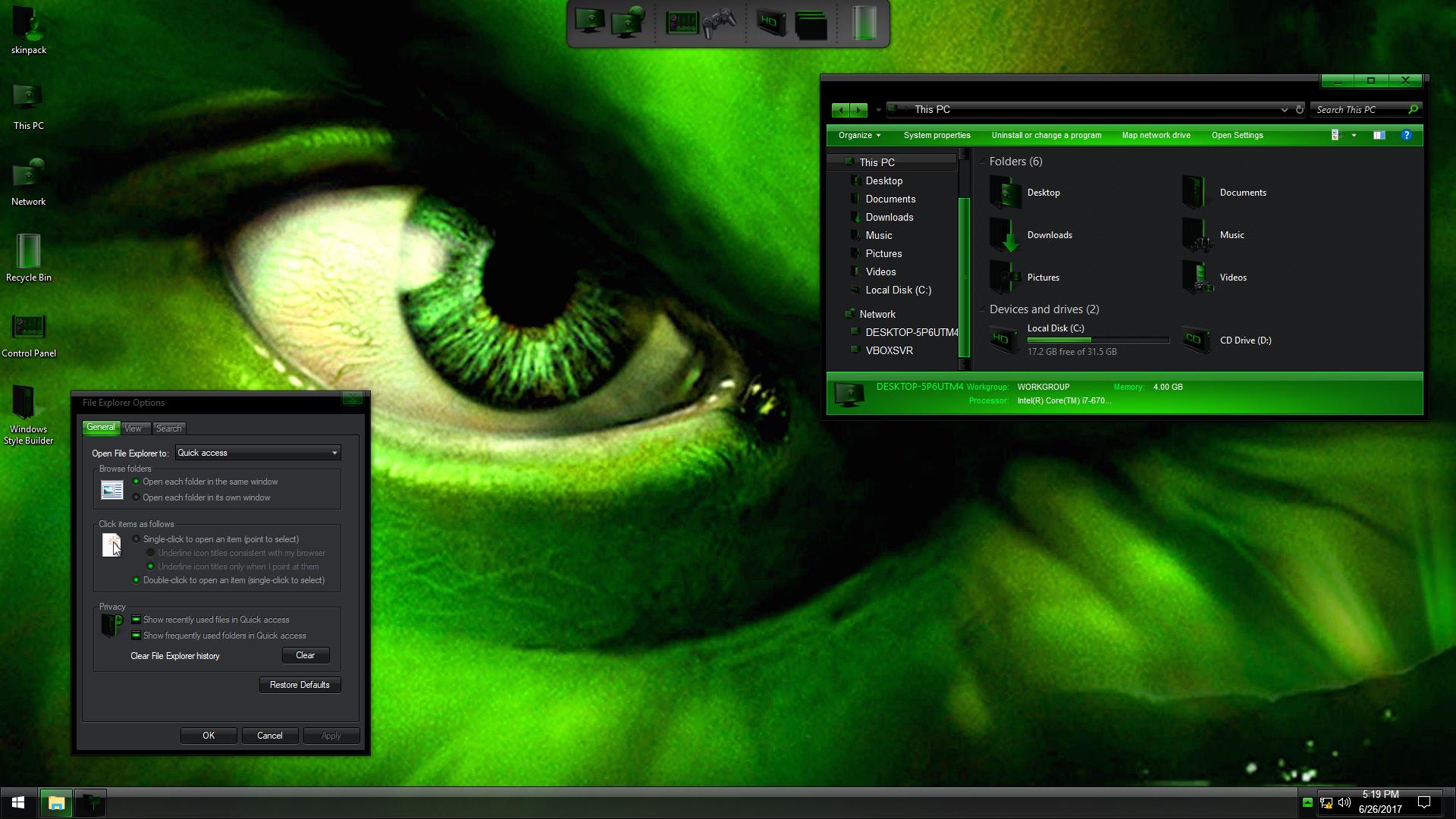Mercenary IconPack for Windows 7/8.1/10