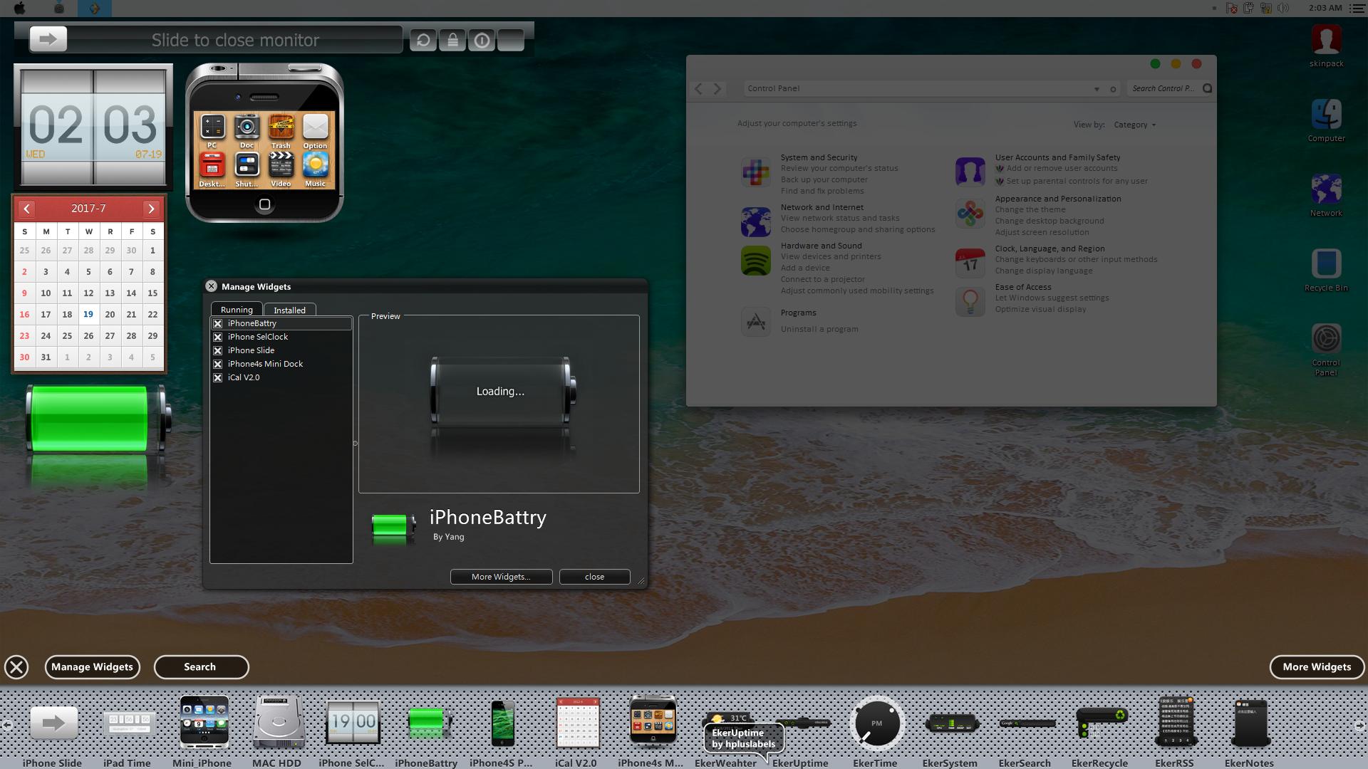 iOS11 SkinPack for Windows 78 110 RS2 & RS3 - SkinPack - Customize