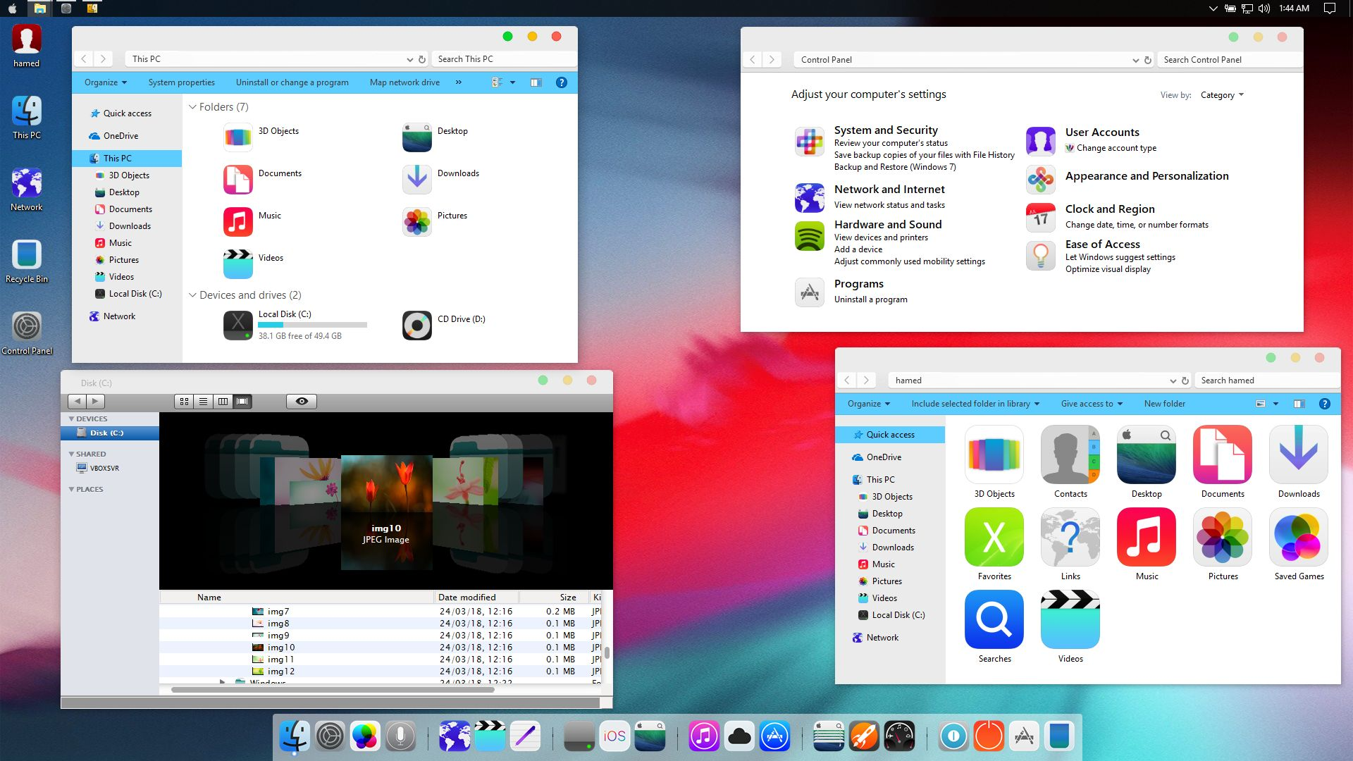 iOS 12 SkinPack for Windows 7\8.1\10