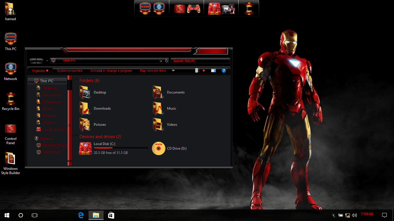 Jarvis SkinPack - SkinPack - Customize Your Digital World
