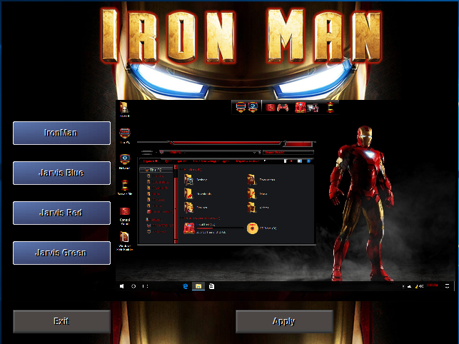 IronMan SkinPack Collections for Win10/8.1/7
