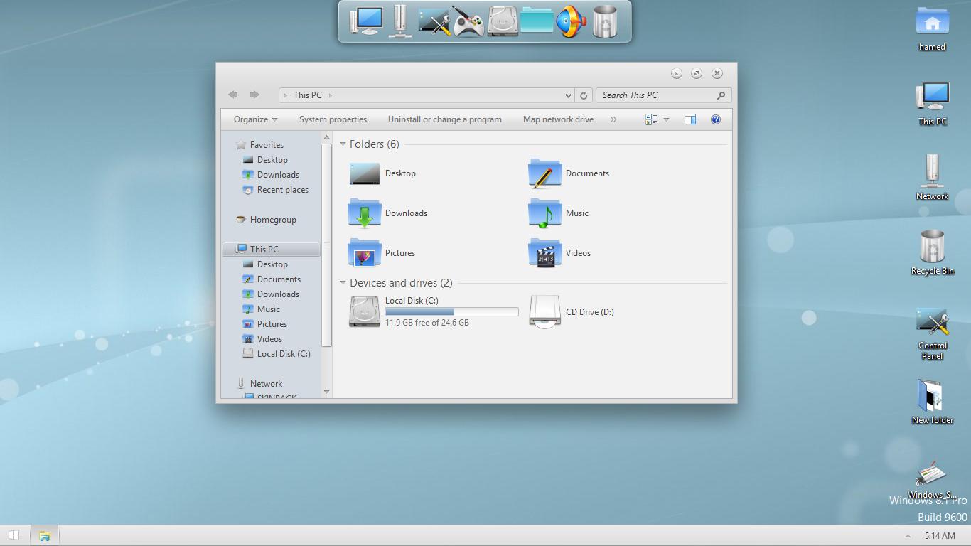 KDE SkinPack for Win7/8.1