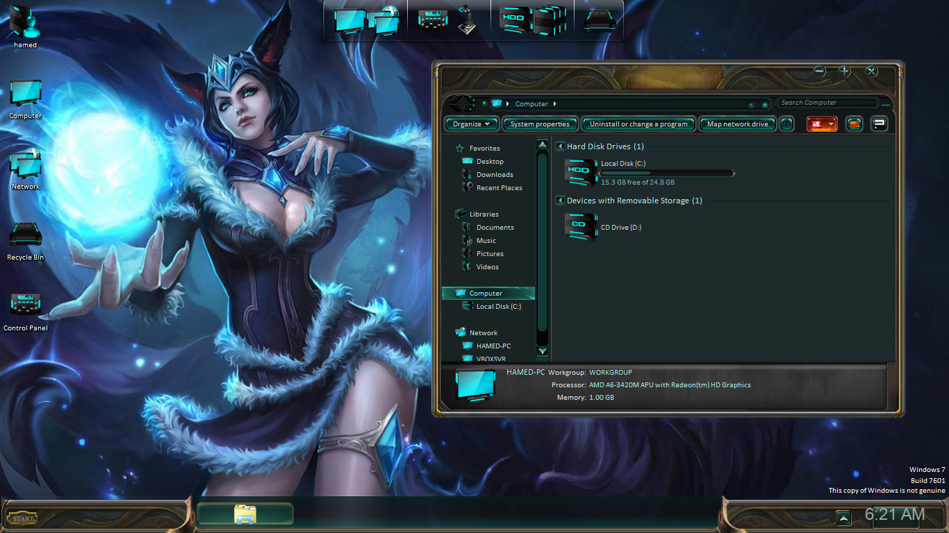 League of Legends SkinPack for Win7/8.1