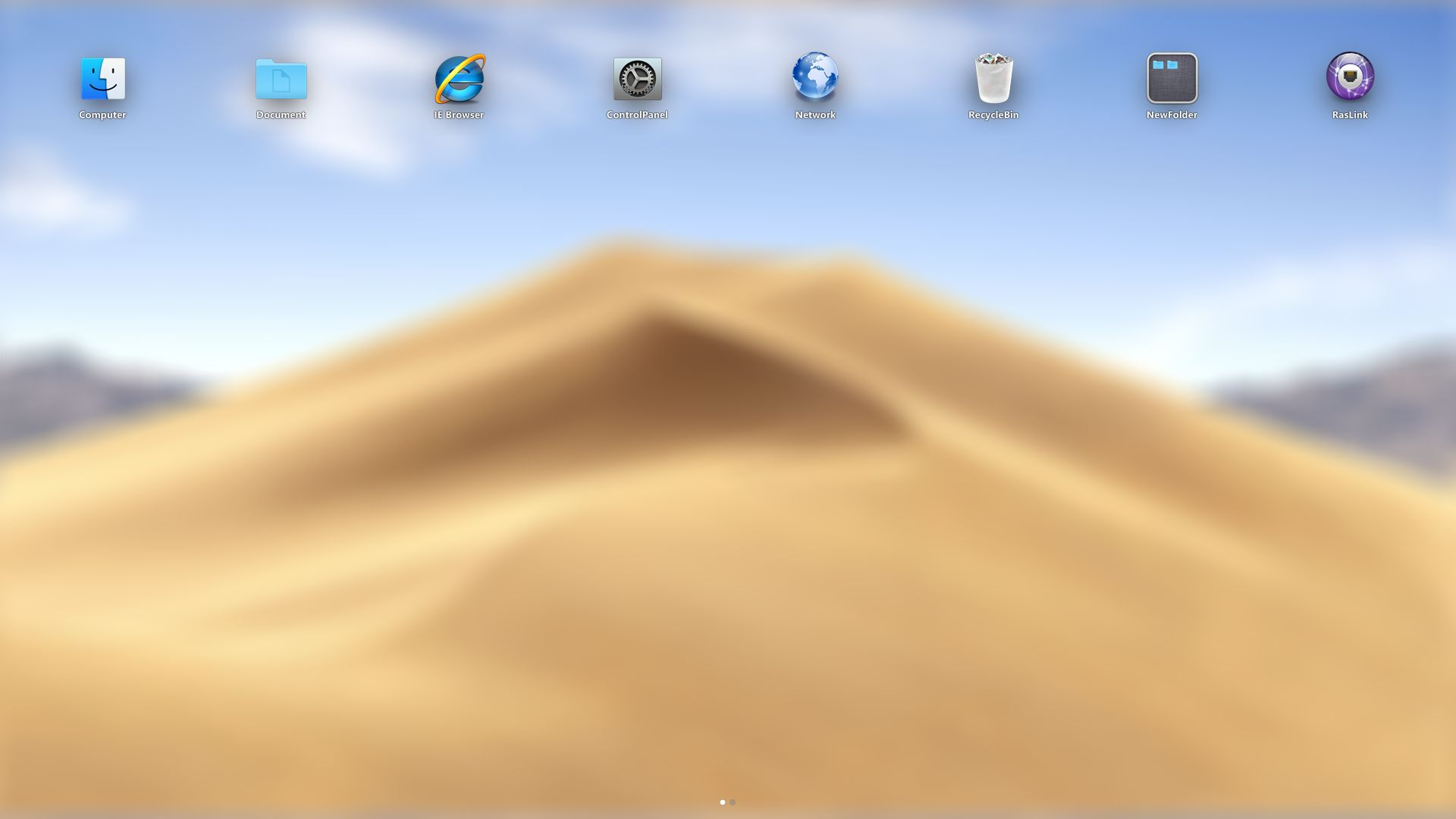 macOS Mojave SkinPack for Windows 78 110 RS5 - SkinPack