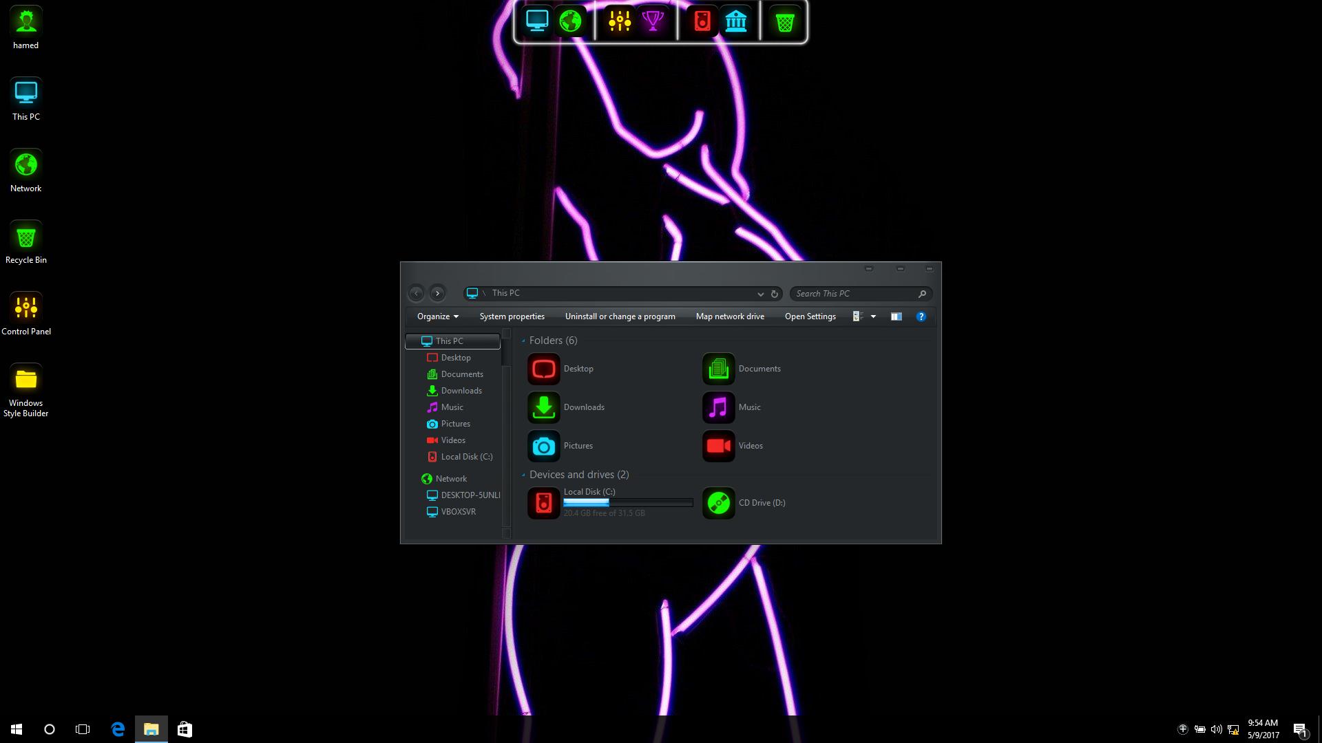 Matrix SkinPack for Win10/8.1/7