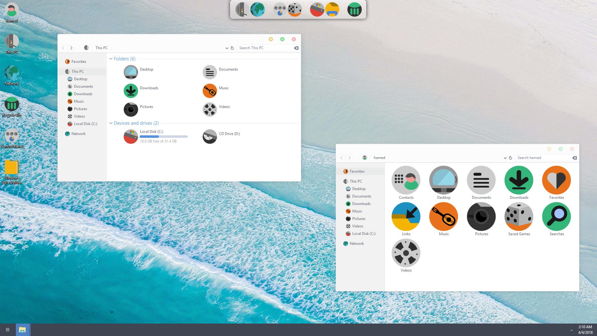 Pixel SkinPack for Windows 10