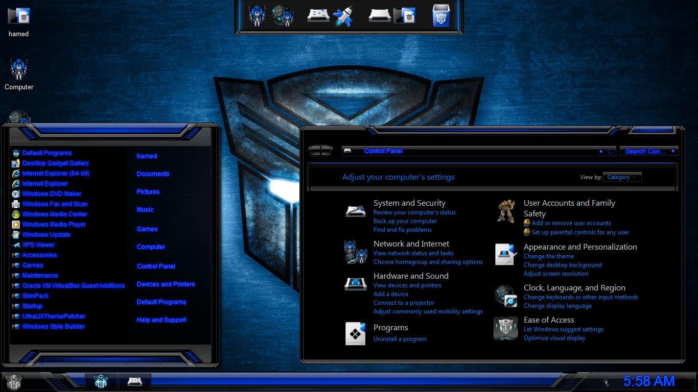 Transformers SkinPack - SkinPack - Customize Your Digital World