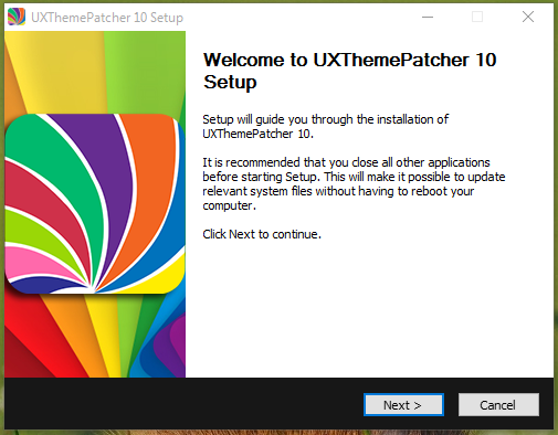 UXThemePatcher For Windows 10 Version 1511, 10586