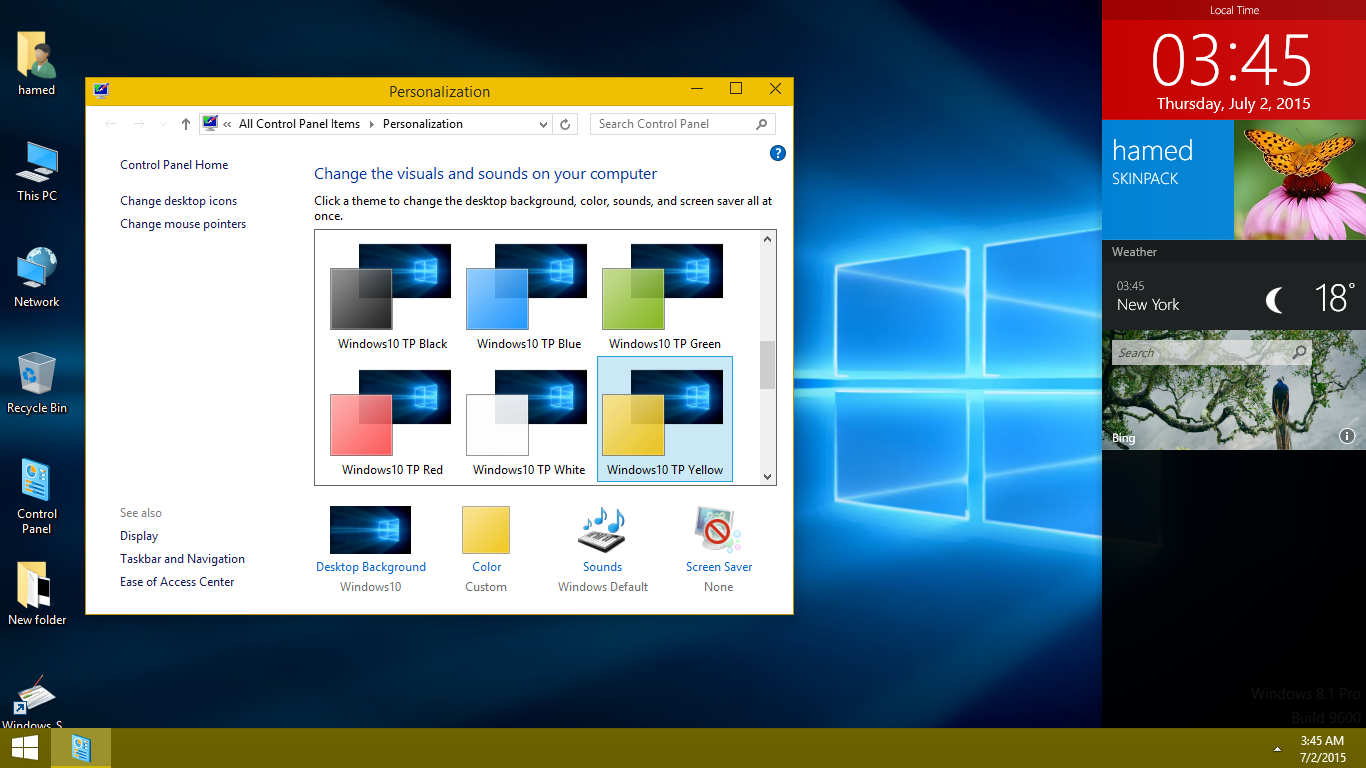 Windows 10 Skin Pack - SkinPack - Customize Your Digital World