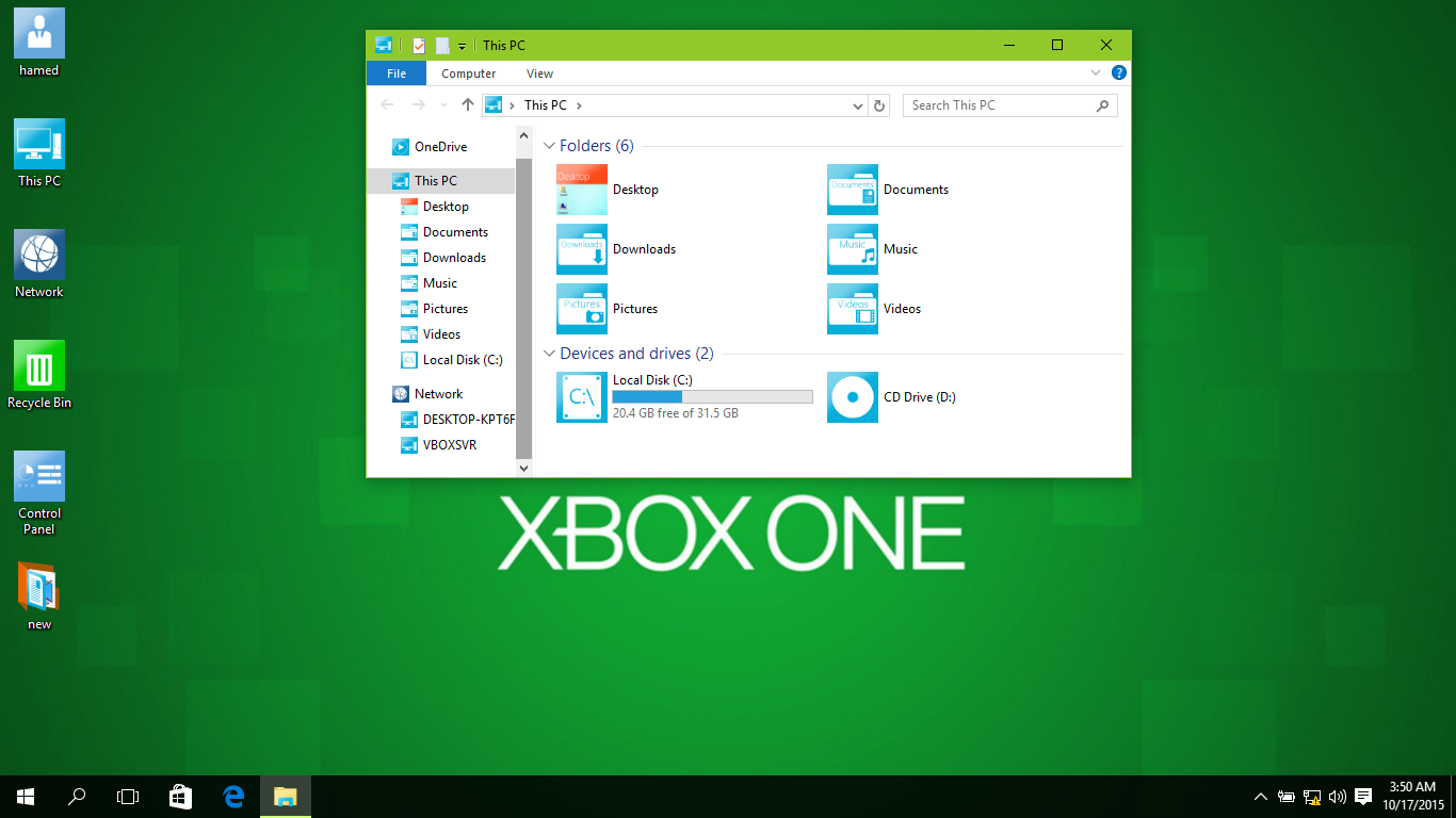 Xbox One SkinPack for Win10 released