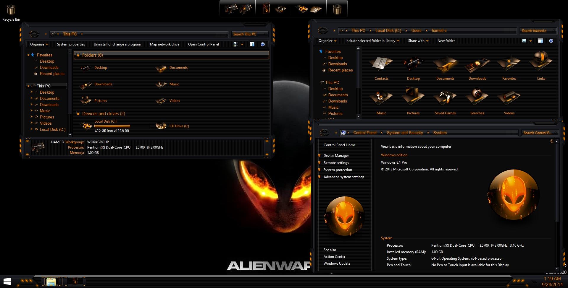 AlienBreed Orange SkinPack - SkinPack - Customize Your Digital World
