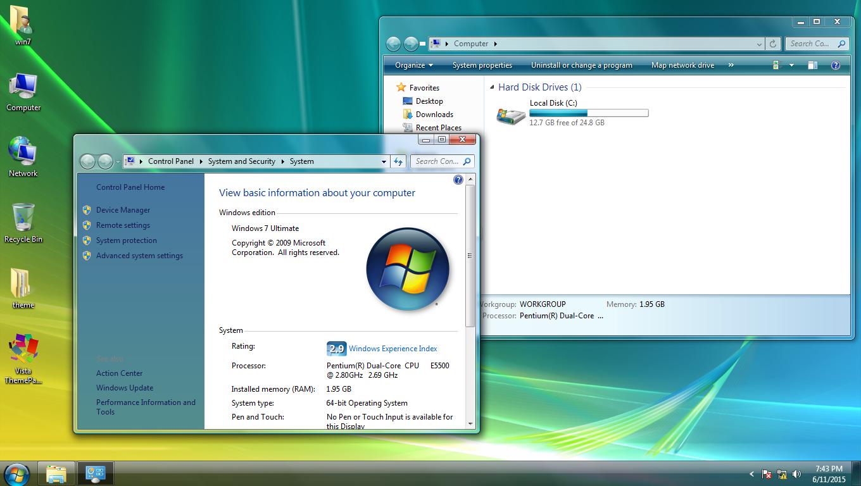 Vista ThemePack for Win7/8/8.1