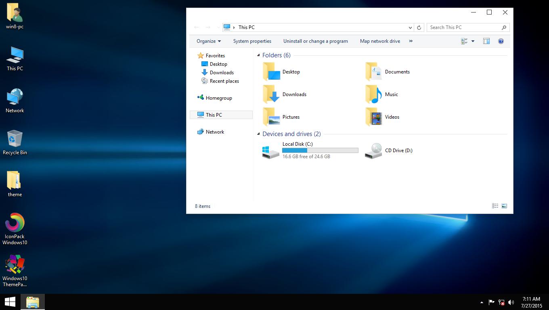 Windows10 ThemePack for Win7/8/8.1
